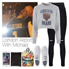 """""""London Airport With Michael"""" by hana-69 ❤ liked on Polyvore featuring Boohoo, Tee and Cake, adidas and Carven"""