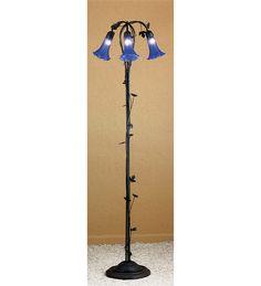 3 Light Lily Floor Lamp Floor Lamps | Santana's Market