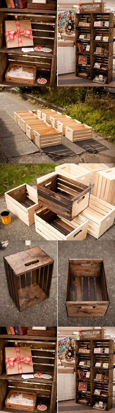 DIY Wood Container