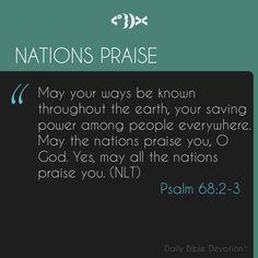 Psalm 67:2-3