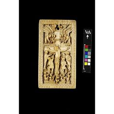 Crucifixion Panel; Rheims; 860-870