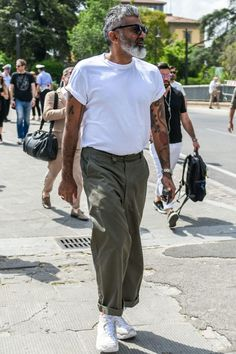 Style Inspiration for Every Type of Woman Old Man Fashion, Fashion Pants, Mens Fashion, Latex Fashion, Gothic Fashion, Streetwear Mode, Streetwear Fashion, Summer Outfits Men, Men Summer