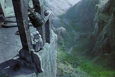 Nuns on the edge, Deborah Kerr in the Archers' - Black Narcissus