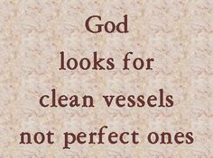 If anyone cleanses himself from what is dishonorable, he will be a vessel for honorable use, set apart as holy, useful to the master of the house, ready for every good work. 2 Timothy 2:21 ESV