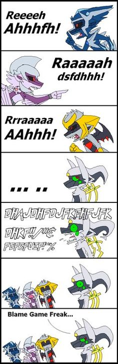 Only Arceus can understand himself ajajajaja