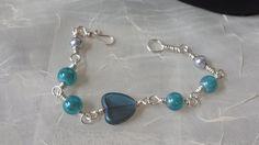 Love the Ocean Bracelet by GirlyPossessions on Etsy