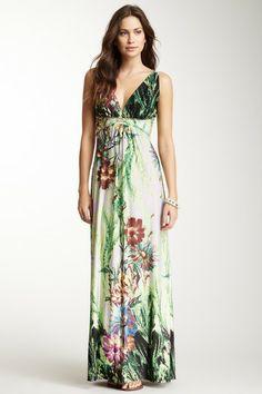 Empire Waist Maxi Dress on HauteLook