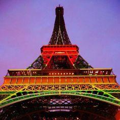#eiffeltower #paris #france #climatechange #nofilter #colours #cop21 #cop21paris2015 by morr80 Eiffel_Tower #France