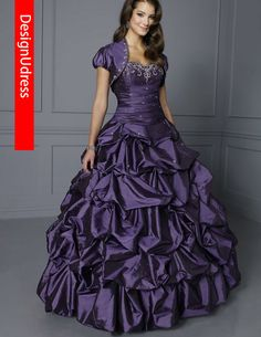 2013 Ball Gowns detachable skirts taffeta Formal Party With Jacket Lace Up Custom made Plus Size Color Quinceanera Dress $279.00