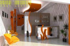 EASY LIVING INDONESIA - Interior Desain & Furniture: DESAIN LOBY KLINIK KECANTIKAN Dr Lina - Mojosari