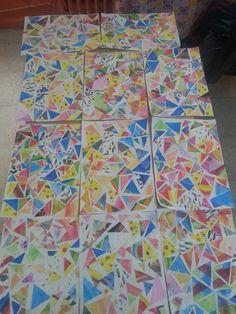 mozaik çalişmasi