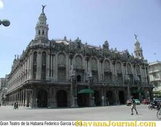 The Grand Opera House in Havana Cuba