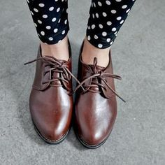 Buy 'BAIMOMO – Faux-Leather Oxford Shoes' with Free International Shipping at YesStyle.com. Browse and shop for thousands of Asian fashion items from Taiwan and more!