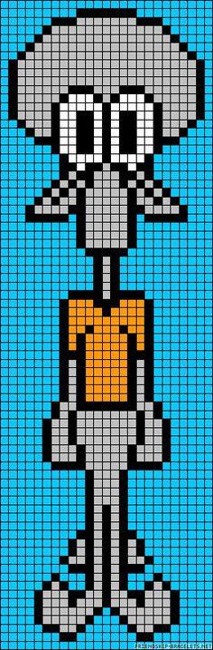 Perler Beads Spongebob | 4ead0d0ef3825908df9d26d5466b450a.jpg