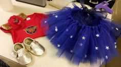 Wonder Woman outfit and tutu for a super hero first birthday party. I love punny. Birthday Outfit For Women, Girl Birthday Themes, 1st Birthday Outfits, Baby Girl Birthday, Boy Birthday Parties, Birthday Ideas, Wonder Woman Birthday, Wonder Woman Party, Birthday Woman