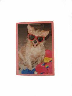 Thank You Dog Card Humorous Dog Card by Lillyzcardz on Etsy, $4.00