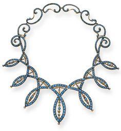 Necklace 1870 Christie's