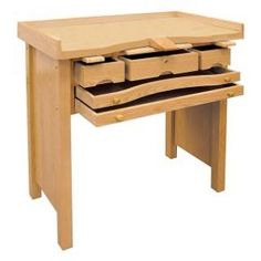 """deluxe jewelers bench 35-1/2"""" x 21-1/2"""" x 37""""H"""
