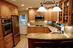 Small U-shaped Kitchen Layouts | Small U-shaped kitchen - Kitchens Forum - GardenWeb