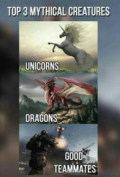 Top 3 mythical creatures