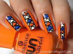 19 Unique Colorful Nail Art Ideas