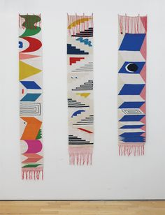 Triennale weaving series by Hannah Waldron