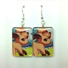 Pokemon Vulpix Earrings
