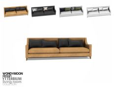 - Ytterbium Living Room - Sofa  Found in TSR Category 'Sims 4 Sofas & Recliners'