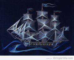 String Art Ideas | String Art DIY | Tutorials, videos and free patterns to do String Art DIY - Part 9
