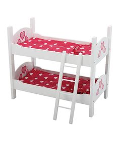 This Doll Bunk Bed by Toys4usa is perfect! #zulilyfinds
