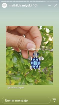 Beaded Earrings Patterns, Bead Loom Patterns, Beading Patterns, Beaded Jewelry, Handmade Jewelry, Beaded Bracelets, Beading Projects, Beading Tutorials, Beaded Animals