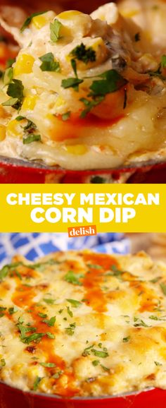 Cheesy Mexican Corn Dip