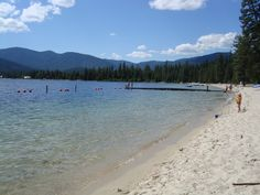 Lion head camp ground  Priest Lake, Idaho.   the best place to camp on the beach!