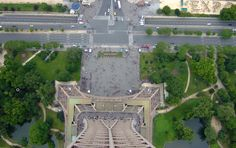 Last time I leaned over that far, Eiffel.