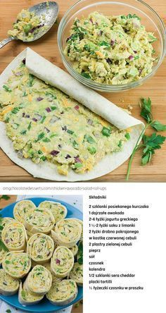 Świetna przekąska na imprezę, Healthy Dinner Recipes, Appetizer Recipes, Healthy Snacks, Cooking Recipes, Party Appetizers, Party Snacks, Good Food, Yummy Food, Awesome Food