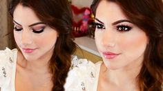 Valentine's Day Makeup Tutorial using Naked 3 Urban Decay Palette Sultry Smokey Eye with Pinks