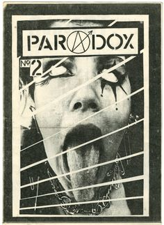In All Our Decadence People Die an exhibit of fanzines presented to Crass between 1976-1984 (I).