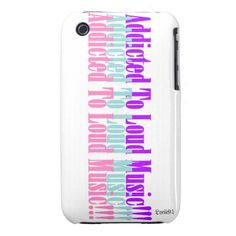 Addicted To Loud music!!! iPhone 3 Cases