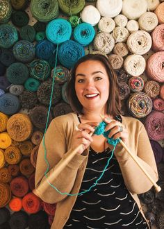 The world's best yarn storage idea
