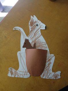 Preschool Kk for Kangaroo ... Removable Joey