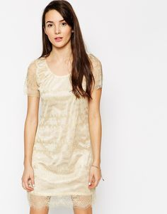 Pussycat London Lace Shift Dress