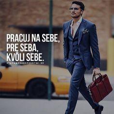 Tak? WEB NA @stavamesauspesnymi_sk #stavamesauspesnymi_sk #úspech #práca Suit Jacket, Breast, Suits, Fitness, Instagram Posts, Style, Psychology, Swag, Suit