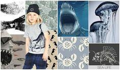 ropa para niños inspirada por el mar
