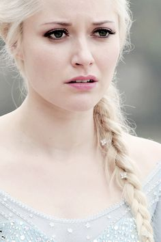 Georgina Haig as Elsa in Once Upon a Time