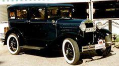 1930 Ford Model A 155D Town Sedan
