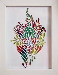 Flower Papercut 2 Ezra Reimer 2012