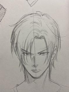 Anime Character Drawing, Manga Drawing, Ash Drawing, Manga Art, Art Drawings Sketches Simple, Pencil Art Drawings, Cool Sketches, Art Reference Poses, Hair Reference