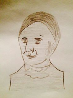 Original Pin: This is a picture that I drew. It is a drawing of Ralph Waldo Emerson .The whole idea of Transcendentalism was centered around him.
