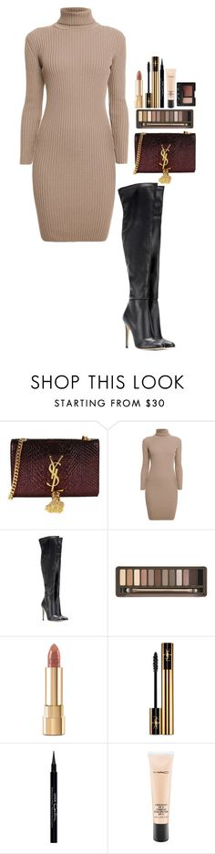 """""""#510"""" by victoria2610 ❤ liked on Polyvore featuring Yves Saint Laurent, Rumour London, Jimmy Choo, Urban Decay, Dolce&Gabbana, Givenchy, MAC Cosmetics and NARS Cosmetics"""