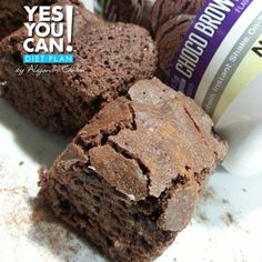 Protein Brownie - A healthy option for your Yes You Can! Diet Plan dessert